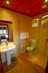Salle de bains dans l'établissement The Ark Lodge