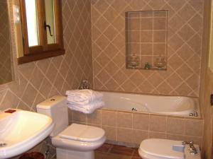 Un baño de Hotel Posada Molino del Cubo