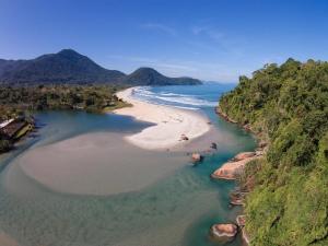 A bird's-eye view of Itamambuca Eco Resort