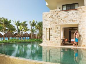 The swimming pool at or near Secrets Akumal Riviera Maya - Adults Only