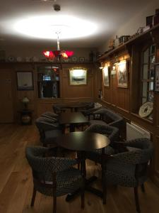 The lounge or bar area at The Smugglers Inn
