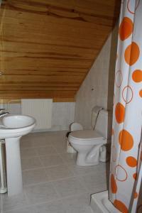 A bathroom at Zīriņi