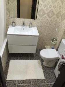 Ванная комната в Apartment Inzhenernaya 108/62