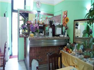 Salone o bar di Hotel Stazione