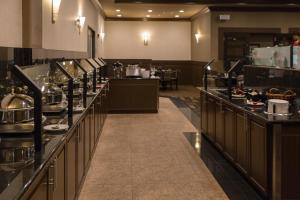 A restaurant or other place to eat at Chateau Nova Peace River