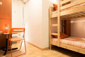 Litera o literas de una habitación en Chinitas Urban Hostel