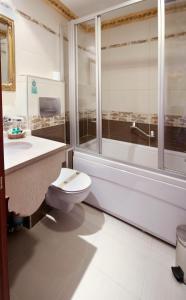 A bathroom at Hotel Sapphire