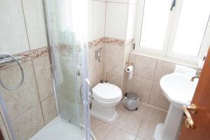 Kupaonica u objektu Hotel Peristil