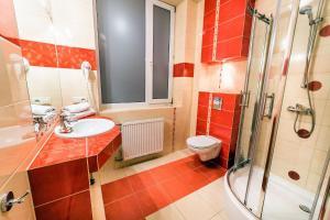 Łazienka w obiekcie Hotel TM