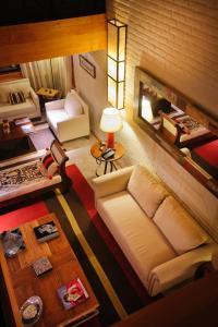 Un lugar para sentarse en Casona Del Alto