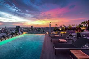 The swimming pool at or near Amara Bangkok Hotel