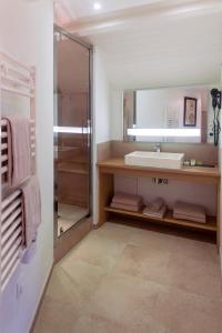 Ein Badezimmer in der Unterkunft La Ferme Du Vert