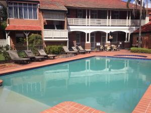 The swimming pool at or near Mercure Maitland Monte Pio