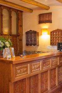 Hall ou réception de l'établissement Amaru Colonial