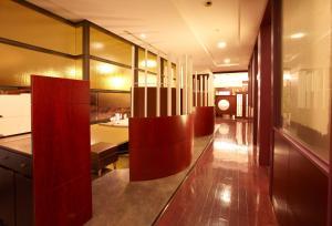 The lobby or reception area at Keisei Hotel Miramare