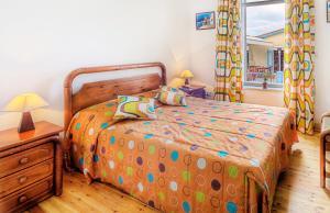Кровать или кровати в номере Alkisti City Hotel