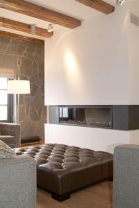 Ein Sitzbereich in der Unterkunft Texel Suites