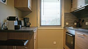 A kitchen or kitchenette at Little Suite - Westhoek