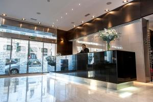 The lobby or reception area at Zenit Valencia