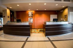 The lobby or reception area at Residence Inn by Marriott Omaha West