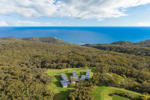 A bird's-eye view of Alkina Lodge - Great Ocean Road