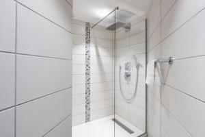 Ein Badezimmer in der Unterkunft Hotel L'Europe