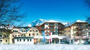 Hotel Post Lermoos in de winter