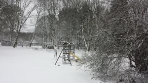 Auberge De Lavacherie during the winter