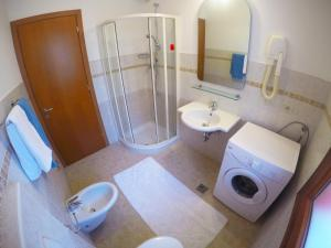 Koupelna v ubytování Residence Guardamar