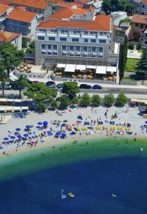 Letecký snímek ubytování Grand Hotel Slavia