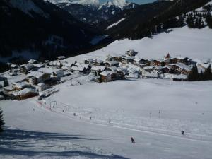 冬のGästehaus Berglandの様子