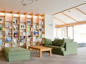A seating area at Hotel Folkloro Hanamakitowa