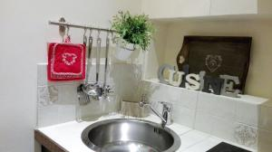 A bathroom at Casabruni
