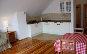 Kuchnia lub aneks kuchenny w obiekcie Storczykowe Wzgórze