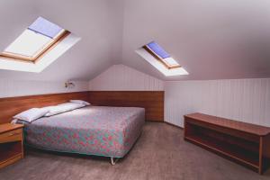 Łóżko lub łóżka w pokoju w obiekcie Hotel Twins