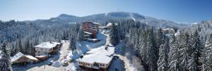 Hotel Prespa during the winter