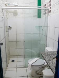 Um banheiro em Pousada Vila do Mar