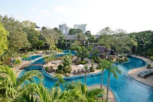A view of the pool at The Green Park Resort or nearby