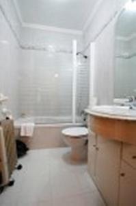 Ванная комната в Hostal Jiménez