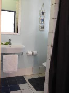 Salle de bains dans l'établissement Aremango Guesthouse