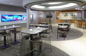 A restaurant or other place to eat at SpringHill Suites Houston Intercontinental Airport
