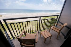 A balcony or terrace at Shell Island Resort - All Oceanfront Suites