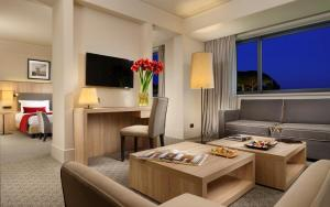 Coin salon dans l'établissement A.Roma Lifestyle Hotel