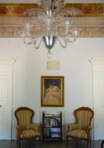 A seating area at Il Palazzo