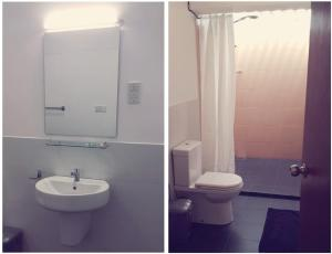 A bathroom at Hangover Hostels @ Colombo Intl Airport