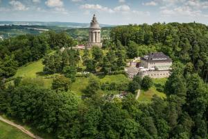 Blick auf Berghotel Eisenach aus der Vogelperspektive