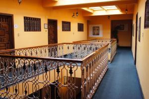 A balcony or terrace at Posada Santa Fe