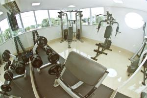 The fitness center and/or fitness facilities at Hotel Innflat-Business