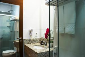 A bathroom at Hotel Estação 101 - Itajaí