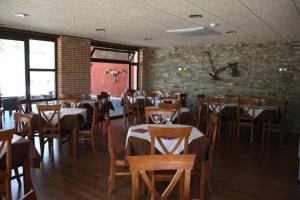 A restaurant or other place to eat at Hotel Rural Corazón de las Arribes